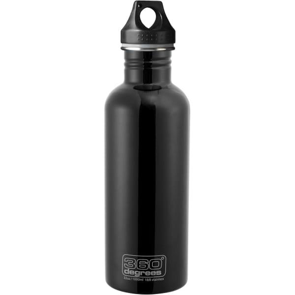 360° degrees Stainless Drink Bottle - 1000 ml - Trinkflasche black - Bild 2