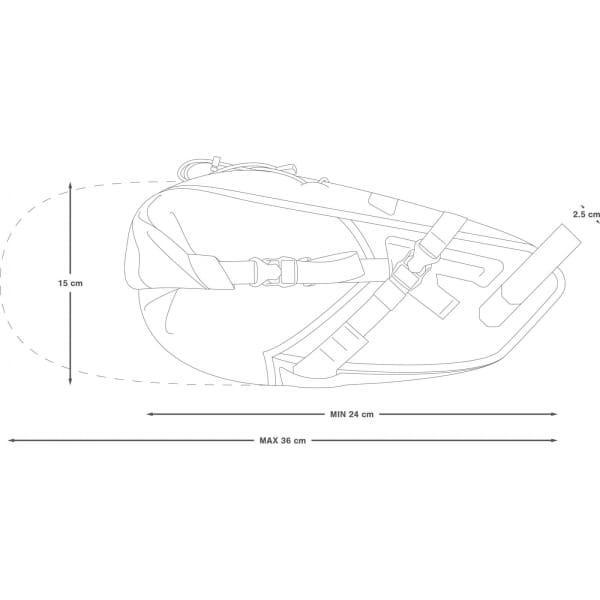 Apidura Backcountry Saddle Pack 6 L - Satteltasche - Bild 3