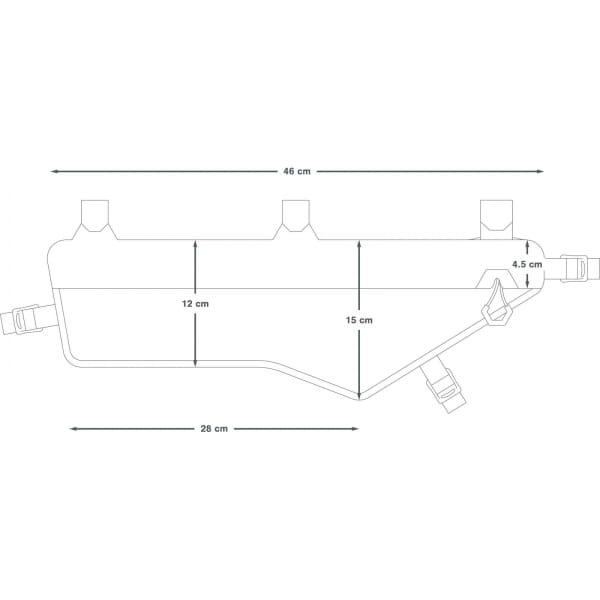 Apidura Expedition Frame Pack 4,5 L - Rahmentasche - Bild 4