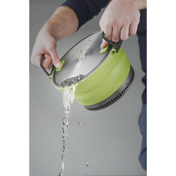 GSI Escape Set - faltbarer Kochtopf und Pfanne green - Bild 11