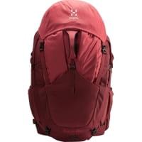 Vorschau: Haglöfs Ängd 60 Women's - Trekkingrucksack light maroon red-brick red - Bild 7