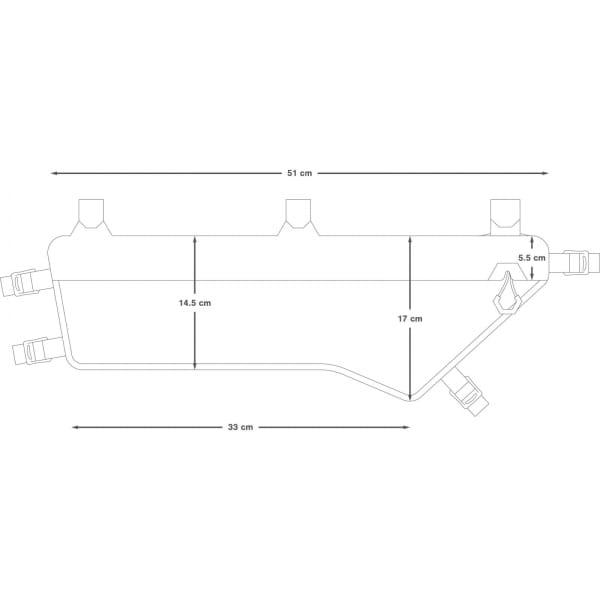 Apidura Expedition Frame Pack 5,3 L - Rahmentasche - Bild 3