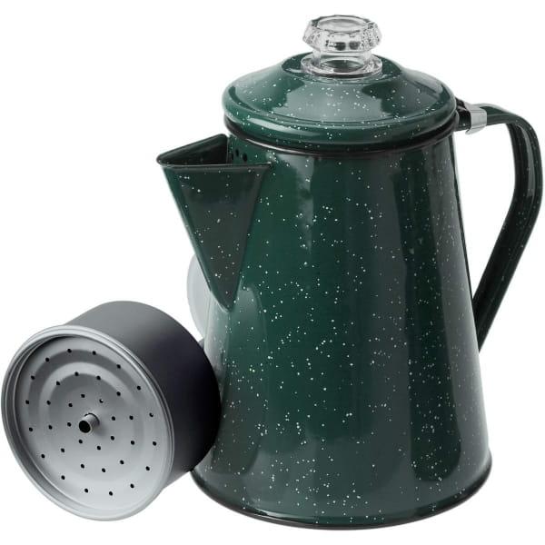 GSI Percolator 8 Cup - Enamel Kaffeekocher green - Bild 2