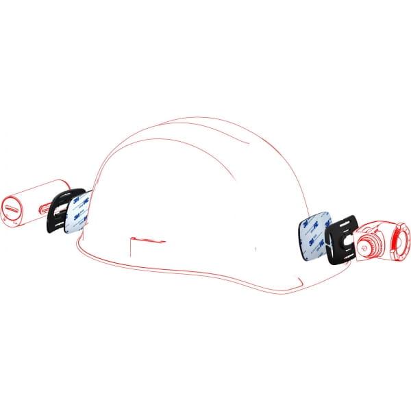 Ledlenser Helmet Connecting Kit Type H - Helmhalterung - Bild 7