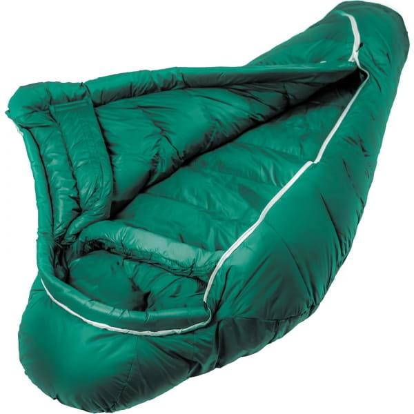 Grüezi Bag Biopod DownWool Subzero - Daunen- & Wollschlafsack pine green - Bild 18