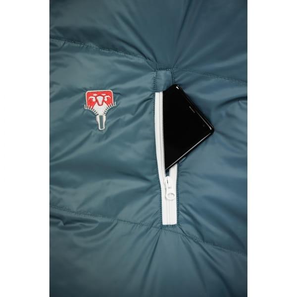 Grüezi Bag Biopod Down Hybrid Ice Cold - Daunen- & Wollschlafsack platin grey - Bild 10