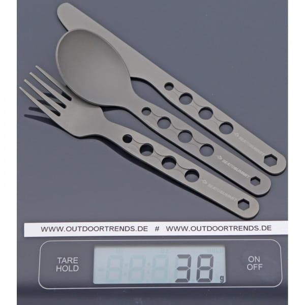 Sea to Summit Alpha Set 3PC Cutlery Set - Messer, Gabel, Löffel - Bild 2