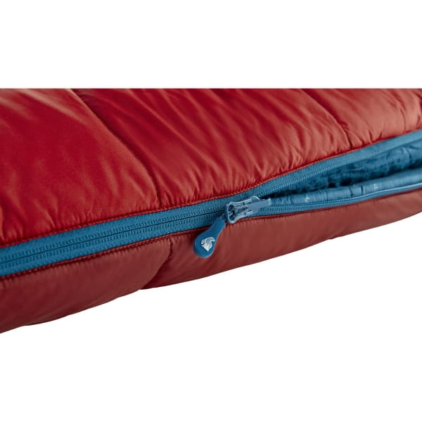 Nordisk Puk -2° Blanket - Decken-Schlafsack sun dried tomato-majolica blue-syrah - Bild 9
