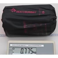 Vorschau: Sea to Summit EtherLite XT Extreme Women's - Schlafmatte black-persian red - Bild 3