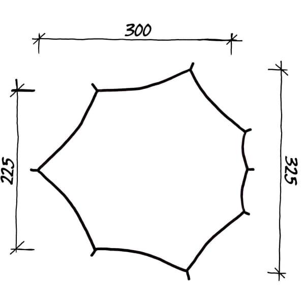 Wechsel Wing M - Zero-G Line Tarp green - Bild 3