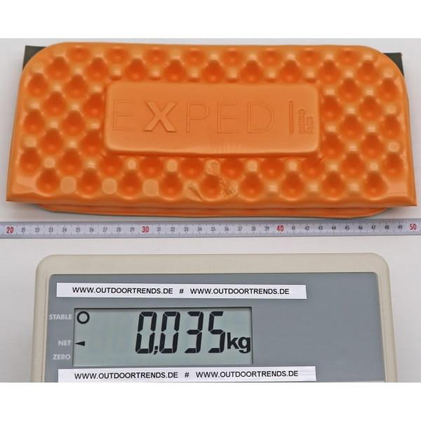 EXPED Sit Pad Flex - Sitzkissen apricot-athracite - Bild 2