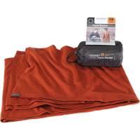 COCOON Merino Wool-Sillk TravelBlanket - Decke