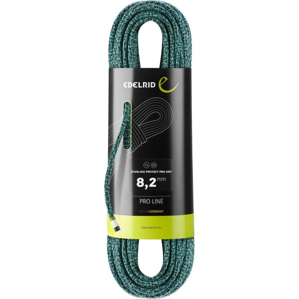 Edelrid Starling Protect Pro Dry 8,2 mm - Halbseil icemint-night - Bild 2