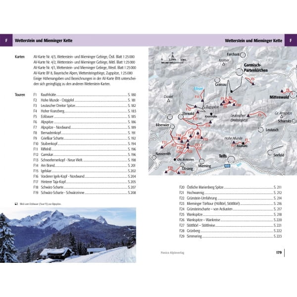 Panico Verlag Karwendel-Rofan-Wetterstein - Skitour Führer - Bild 10