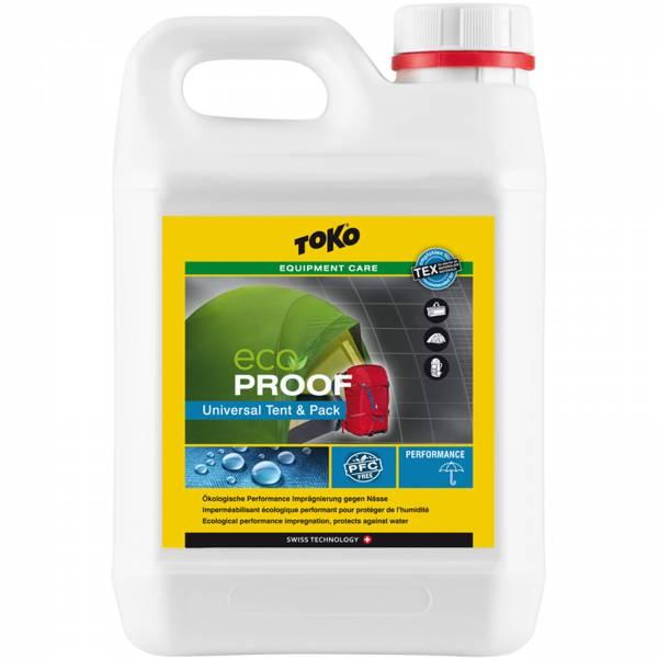Toko Eco Proof Universal Tent & Pack - Imprägnierung - 2,5 Liter - Bild 1