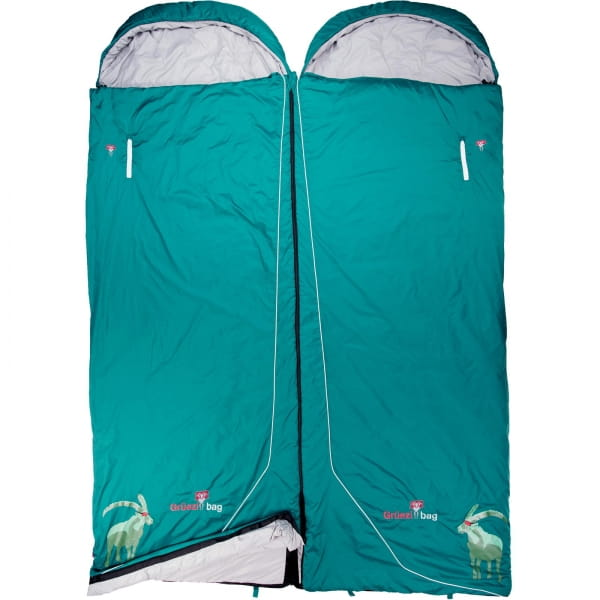 Grüezi Bag Biopod Wolle Goas Comfort - Deckenschlafsack dark petrol - Bild 8