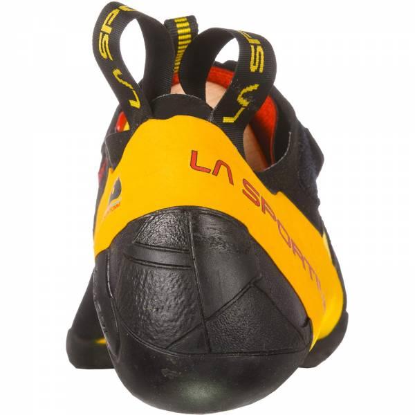 La Sportiva Skwama - Kletterschuhe black-yellow - Bild 5