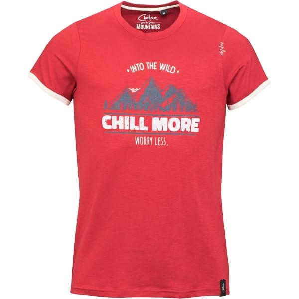 Chillaz Men's Retro Worry Less - T-Shirt dark red - Bild 8