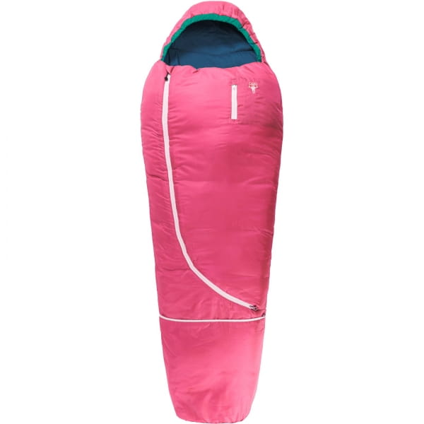 Grüezi Bag Biopod Wolle Kids World Traveller - Wollschlafsack claret red - Bild 12