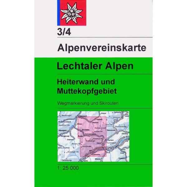 DAV 3/4 Lechtaler Alpen - Heiterwand und Muttekopfgebiet - Bild 1