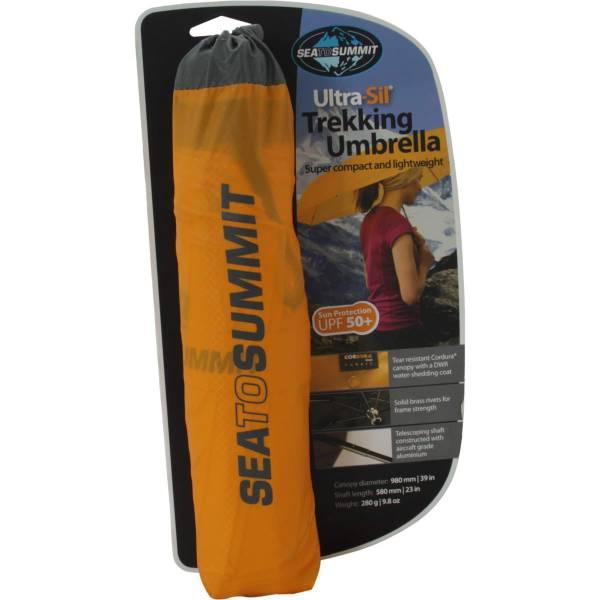 Sea to Summit Ultra-Sil Trekking Umbrella - Regenschirm gelb - Bild 2