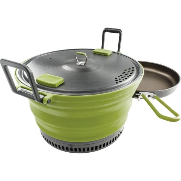 GSI Escape Set - faltbarer Kochtopf und Pfanne green - Bild 1