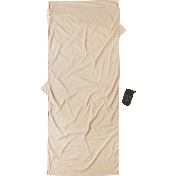 COCOON Egyptian Cotton Insect Shield TravelSheet sand - Bild 1