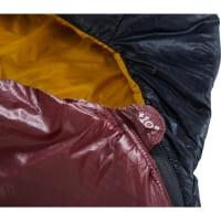 Vorschau: Nordisk Oscar +10° Mummy - Sommerschlafsack rio red-mustard yellow-black - Bild 8