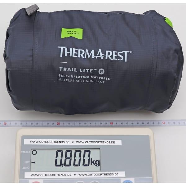 Therm-a-Rest Trail Lite - Isomatte trooper grey - Bild 3