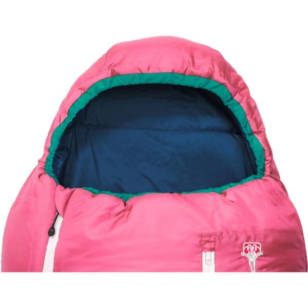Grüezi Bag Biopod Wolle Kids World Traveller - Wollschlafsack claret red - Bild 17