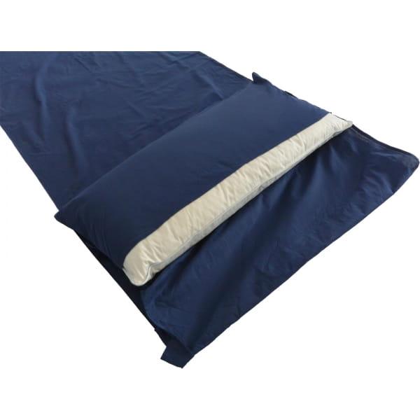 Origin Outdoors Sleeping Liner Poly-Baumwolle - Deckenform royalblau - Bild 5