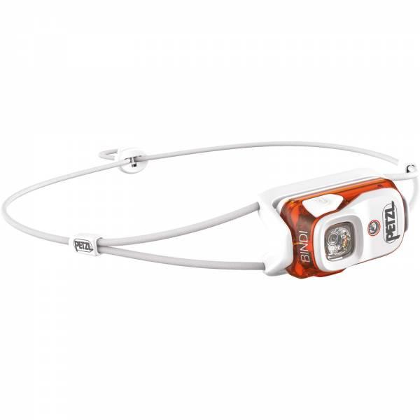 Petzl BINDI - aufladbare Stirnlampe orange - Bild 2