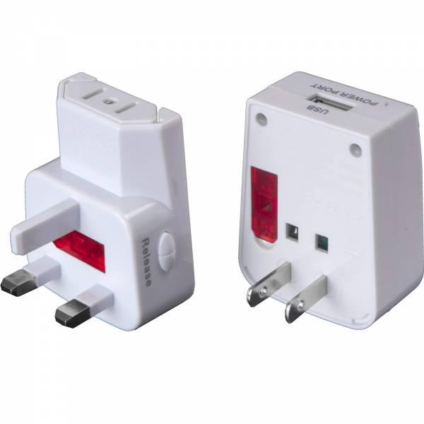 Basic Nature Universal USB Steckeradapter - Bild 4