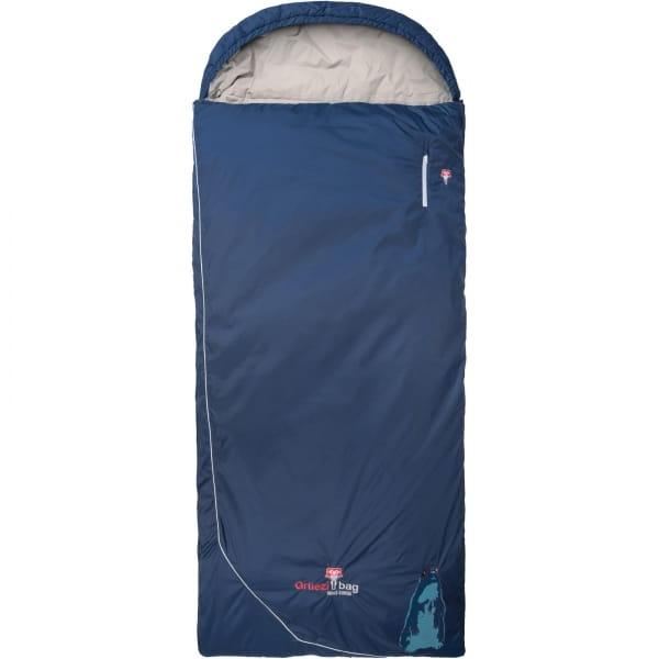 Grüezi Bag Biopod Wolle Murmeltier Comfort XXL - Deckenschlafsack night blue - Bild 1