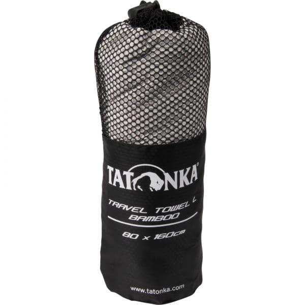 Tatonka Travel Towel Bamboo L - Funktionshandtuch grey - Bild 4