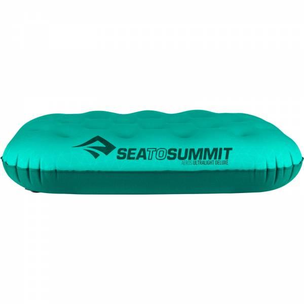 Sea to Summit Aeros Pillow Ultralight Deluxe - Kopfkissen sea foam - Bild 10