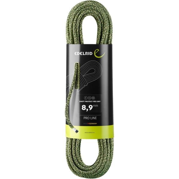 Edelrid Swift Protect Pro Dry 8.9 - drei Normen Seil night-green - Bild 1