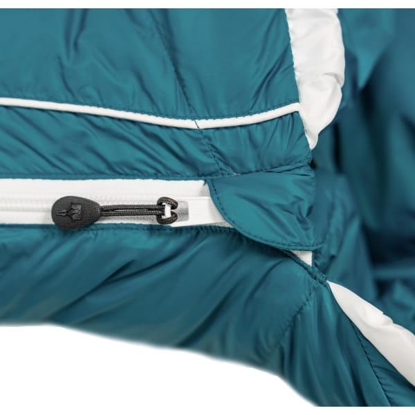 Grüezi Bag Biopod DownWool Subzero Comfort - Daunen- & Wollschlafsack autumn blue - Bild 9