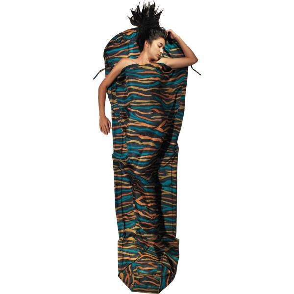 COCOON Silk MummyLiner - Seiden-Schlafsack african night - Bild 4