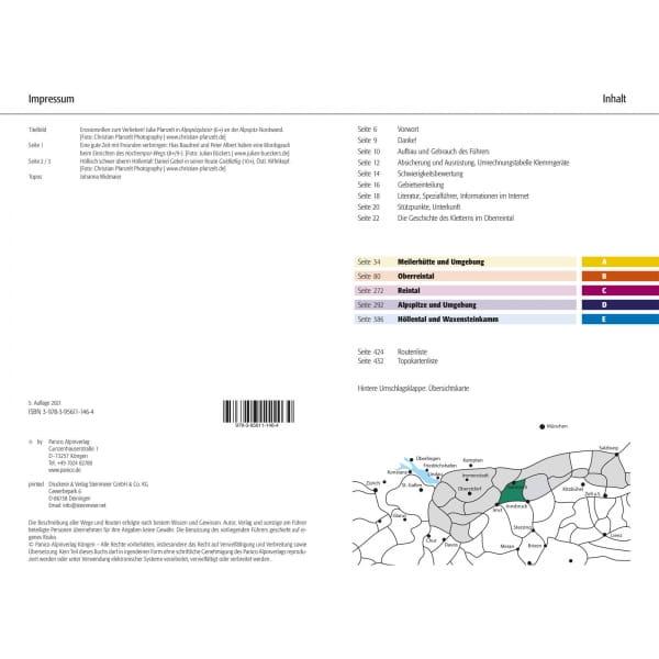 Panico Verlag Wetterstein Nord - Kletterführer Alpin - Bild 3