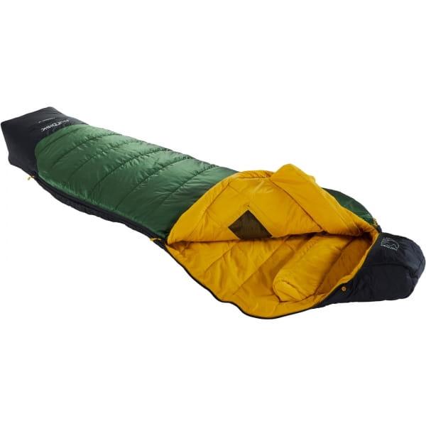 Nordisk Gormsson -2° Curve - 3-Jahreszeiten-Schlafsack artichoke green-mustard yellow-black - Bild 1