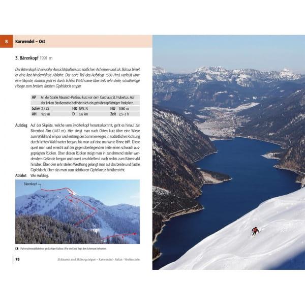 Panico Verlag Karwendel-Rofan-Wetterstein - Skitour Führer - Bild 8