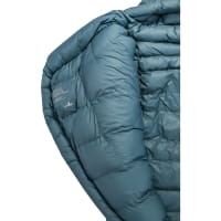 Vorschau: Grüezi Bag Biopod Down Hybrid Ice Cold - Daunen- & Wollschlafsack platin grey - Bild 14