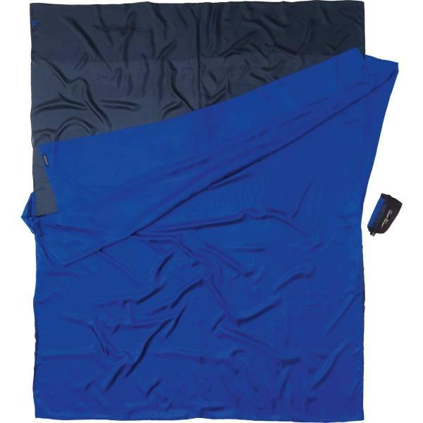 COCOON Silk TravelSheet Double Size tuareg-ultramarine blue - Bild 2