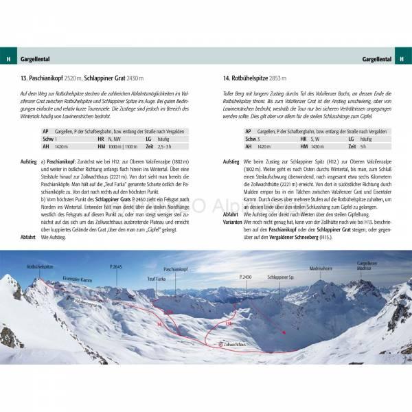 Panico Verlag Vorarlberg - Skitourenführer - Bild 6