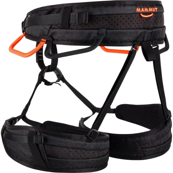 Mammut Ophir 4 Slide - Kletter-Gurt black-safety orange - Bild 4
