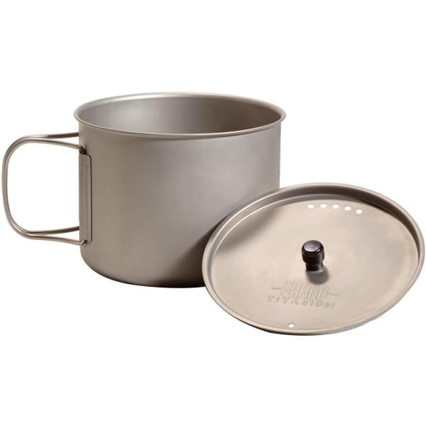 VARGO Ti-Lite Mug 0,9L - Titan Becher - Bild 2