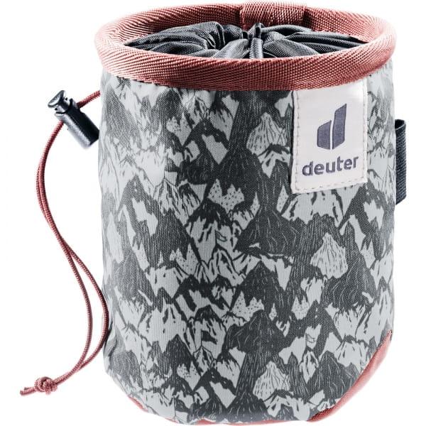 deuter Gravity Chalk Bag I graphite mountain-redwood - Bild 1