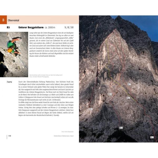 Panico Verlag Wetterstein Nord - Kletterführer Alpin - Bild 6