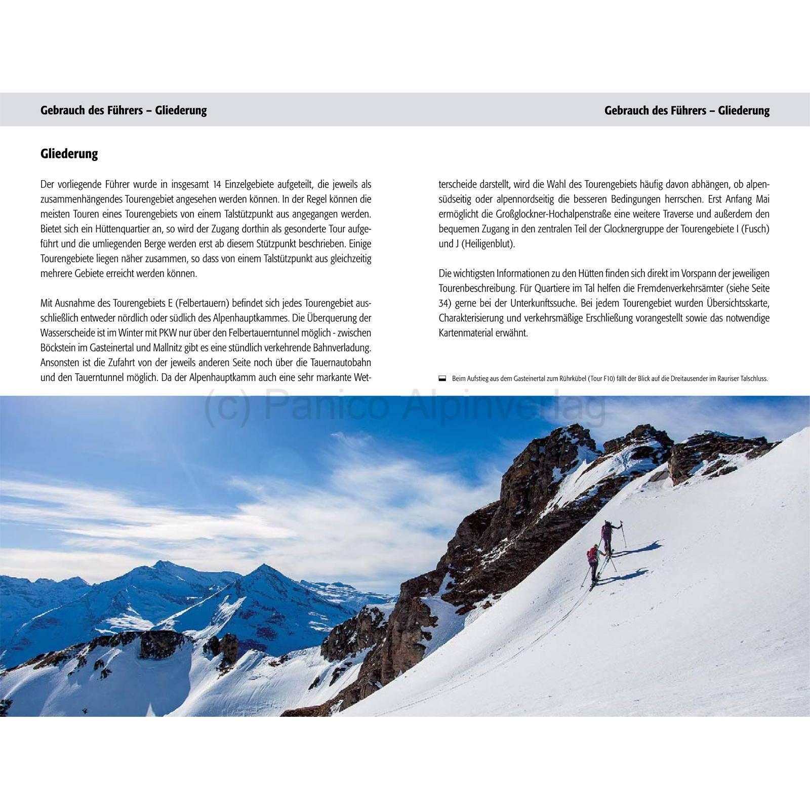 Panico Verlag Hohe Tauern - Skitourenführer - Bild 4